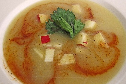 Apfel - Sellerie - Suppe 3