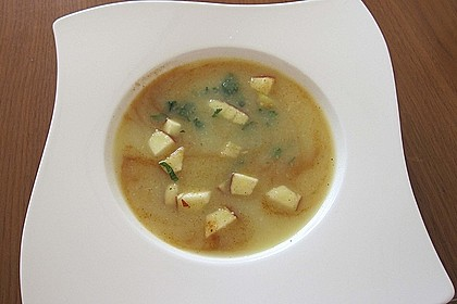 Apfel - Sellerie - Suppe 4