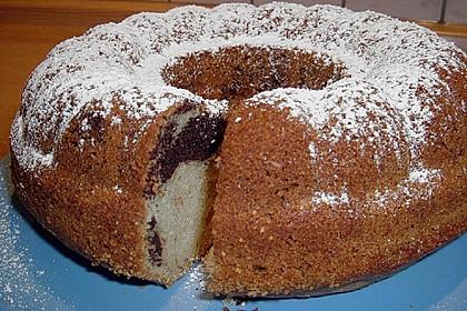 Marmorkuchen mit Öl und Mineralwasser 13