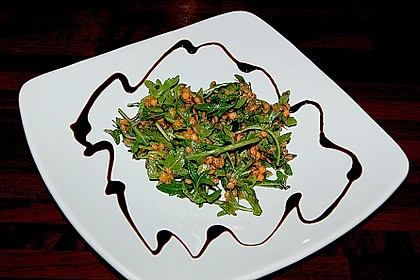 Linsen - Rucola - Salat 5