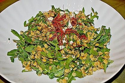 Linsen - Rucola - Salat 4