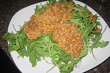 Linsen - Rucola - Salat 11