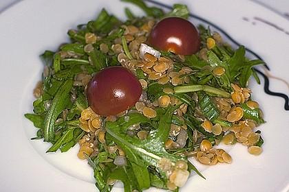 Linsen - Rucola - Salat 6