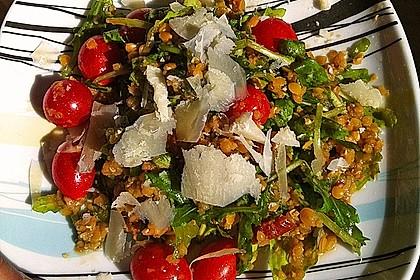 Linsen - Rucola - Salat 2