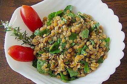 Linsen - Rucola - Salat 1