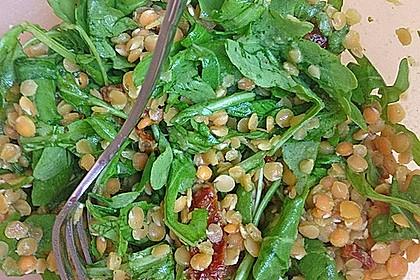 Linsen - Rucola - Salat 8