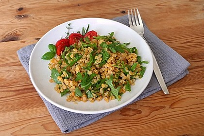 Linsen - Rucola - Salat 3
