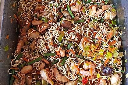 Asiatische Garnelen - Nudel - Pfanne 5