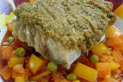 Fisch im Tomatenbett