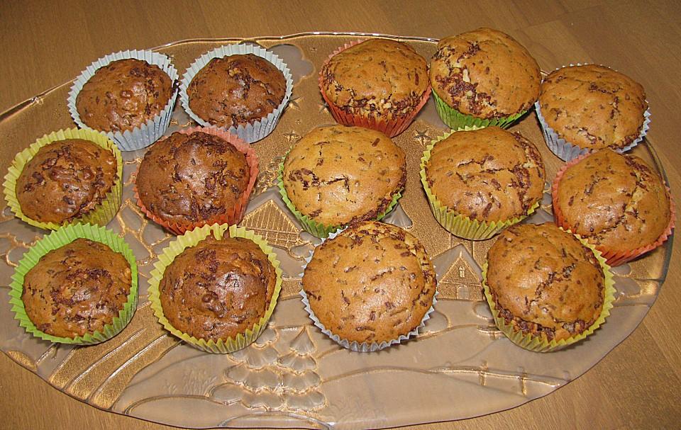 schokoladen muffins rezept mit bild von froeschla83. Black Bedroom Furniture Sets. Home Design Ideas
