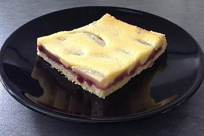 Birnen - Creme Kuchen 1