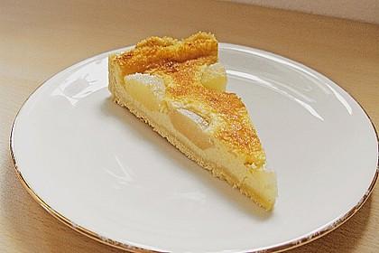 Birnen - Creme Kuchen 6