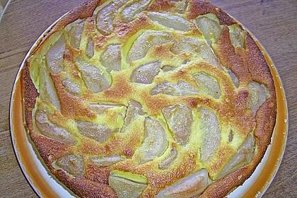 Birnen - Creme Kuchen 25