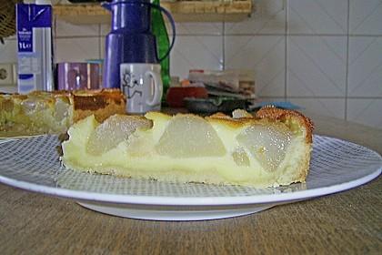 Birnen - Creme Kuchen 45