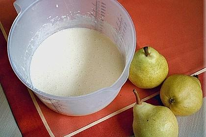 Birnen - Creme Kuchen 60