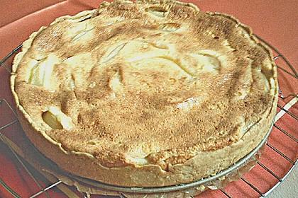 Birnen - Creme Kuchen 55
