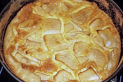 Birnen - Creme Kuchen 57