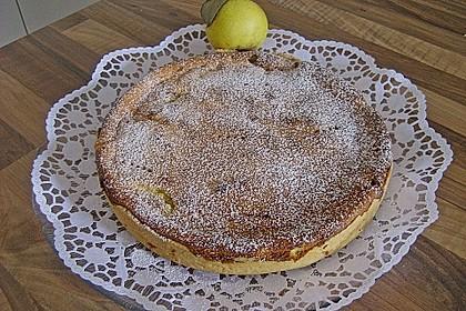 Birnen - Creme Kuchen 14