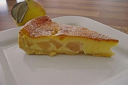 Birnen - Creme Kuchen 5
