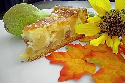 Birnen - Creme Kuchen 7