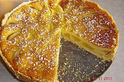 Birnen - Creme Kuchen 2