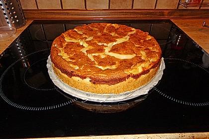 Birnen - Creme Kuchen 18