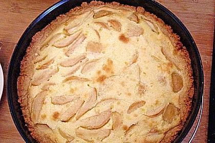 Birnen - Creme Kuchen 35