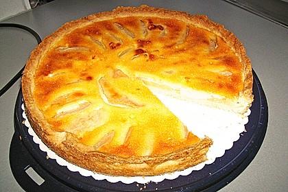 Birnen - Creme Kuchen 30
