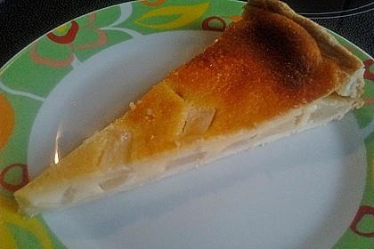 Birnen - Creme Kuchen 24