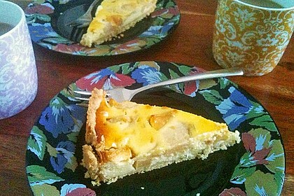 Birnen - Creme Kuchen 46