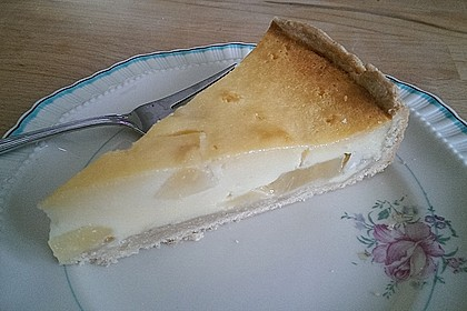 Birnen - Creme Kuchen 8