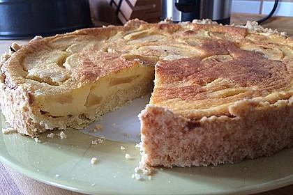 Birnen - Creme Kuchen 13