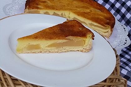 Birnen - Creme Kuchen