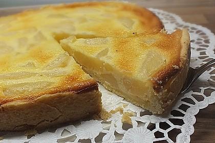 Birnen - Creme Kuchen 4