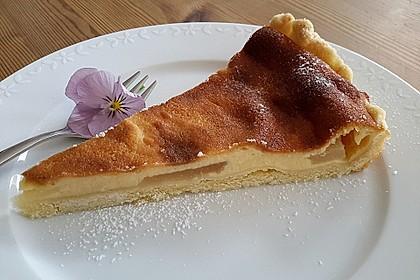 Birnen - Creme Kuchen 3