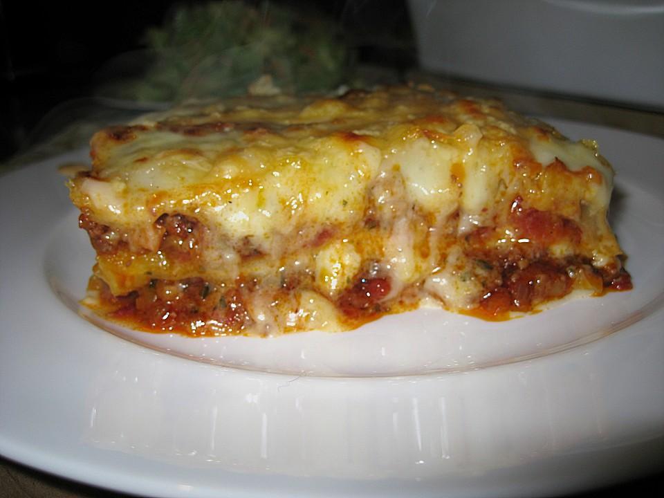 italienische lasagne rezept mit bild von vaninail. Black Bedroom Furniture Sets. Home Design Ideas