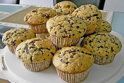 Schokoladen - Marzipan - Muffins 12
