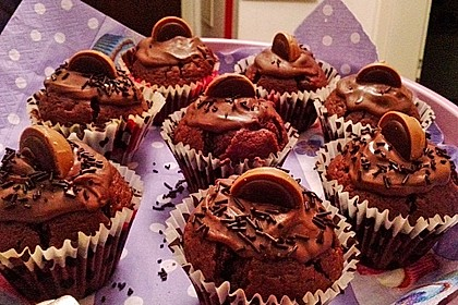 Schokoladen - Marzipan - Muffins 10