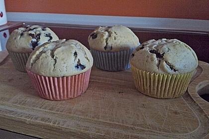 Schokoladen - Marzipan - Muffins 2