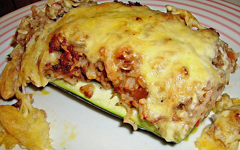 Gef llte zucchini rezept mit bild von flussel for Kochen zucchini