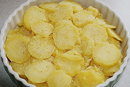 Kartoffelgratin 3