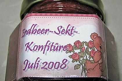 Erdbeer - Sekt - Konfitüre 21