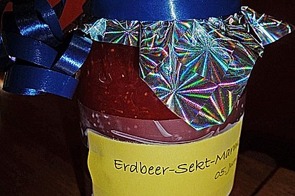Erdbeer - Sekt - Konfitüre 13