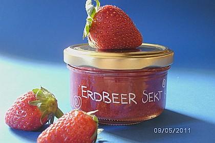 Erdbeer - Sekt - Konfitüre 1