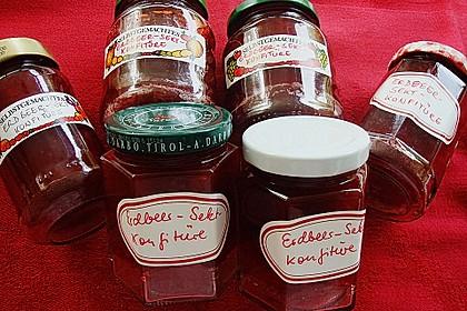 Erdbeer - Sekt - Konfitüre 2