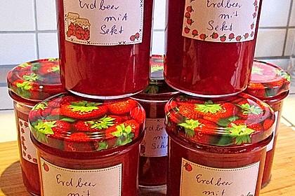 Erdbeer - Sekt - Konfitüre 5