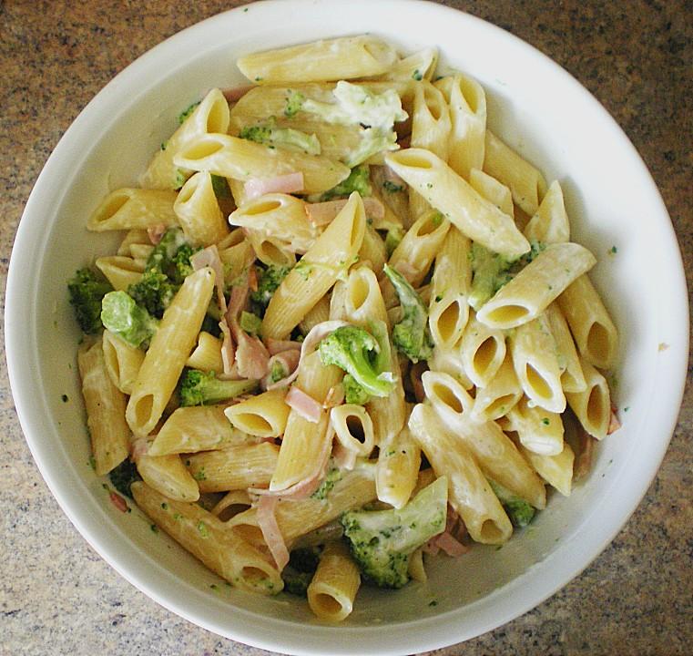 schneller brokkoli nudelsalat rezept mit bild