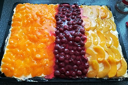 Erdbeer-Kuchen mit Vanillecreme 36