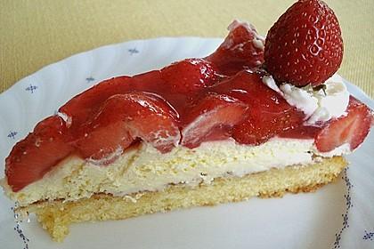 Erdbeer-Kuchen mit Vanillecreme 57