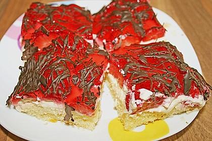 Erdbeer-Kuchen mit Vanillecreme 42
